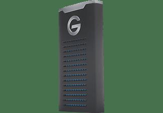 G-TECHNOLOGY G-DRIVE mobile SSD R-Series, 2 TB SSD, 2,5 Zoll, extern, Schwarz