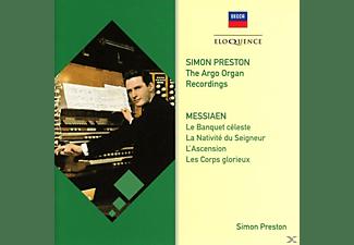 PRESTON SIMON - PRESTON: DIE ARGO AUFNAHMEN-MESSIAEN  - (CD)