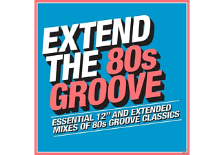 VARIOUS - Extend the 80s-Groove  - (CD)