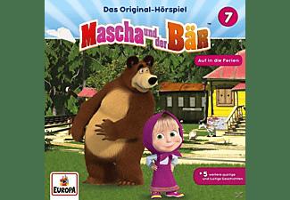 Mascha Und Der Bär - 007/Auf in die Ferien  - (CD)