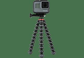 JOBY GorillaPod 500 Action Dreibein Stativ, Schwarz/Grau, Höhe offen bis 185 mm