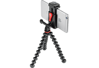 JOBY GripTight Action Kit Dreibein Stativ, Schwarz/Grau, Höhe offen bis 240 mm