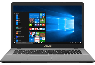 ASUS N705UD-GC188T, Gaming Notebook mit 17.3 Zoll Display, Core™ i5 Prozessor, 16 GB RAM, 1 TB HDD, 512 GB SSD, GeForce® GTX 1050, Star Grey