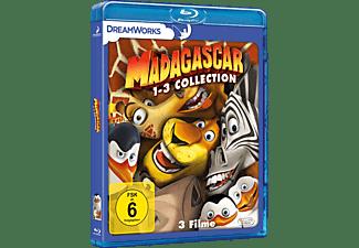 Madagascar 1-3 Blu-ray