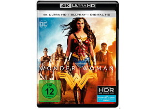 Wonder Woman [4K Ultra HD Blu-ray + Blu-ray + DVD]