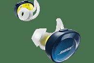 BOSE SoundSport Free Wireless, In-ear Kopfhörer Bluetooth Blau