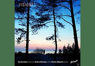 CESE GUNTA, DARZINA ANDRA, ZILBERTS VENTIS - VISIONE!...  - (CD)
