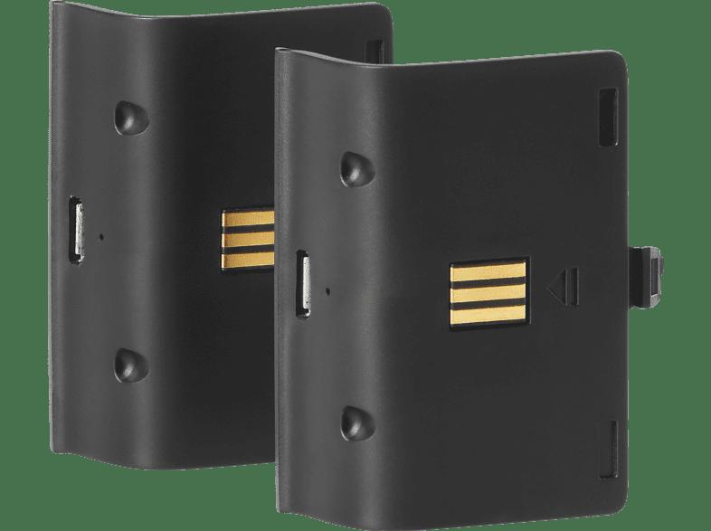 SNAKEBYTE Twin Charge X + 2 Akkus 700 mAh Zubehör für Xbox One, Schwarz