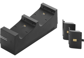 SNAKEBYTE Twin Charge X + 2 Akkus 700 mAh, Zubehör für Xbox One, Schwarz