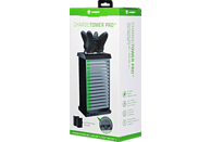 SNAKEBYTE Charge:Tower Pro™ + 2 Akkus 600 mAh Charge Tower, Schwarz