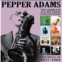 Pepper Adams - The Classic Albums Collection - Eight Original LPs (1957-1961) [CD]