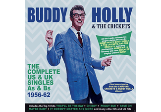 Buddy Holly, The Crickets - Complete US & UK Singles  - (CD)