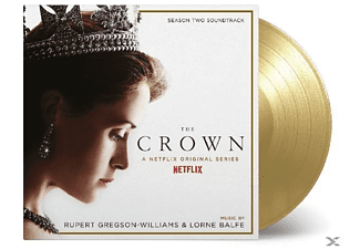 VARIOUS - Crown Season 2  (ltd goldenes Vinyl)  - (Vinyl)