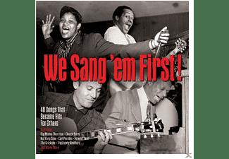 VARIOUS - We Sang 'Em First  - (CD)
