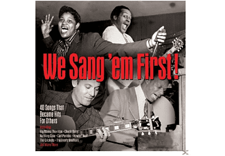 VARIOUS - We Sang 'Em First - (CD)