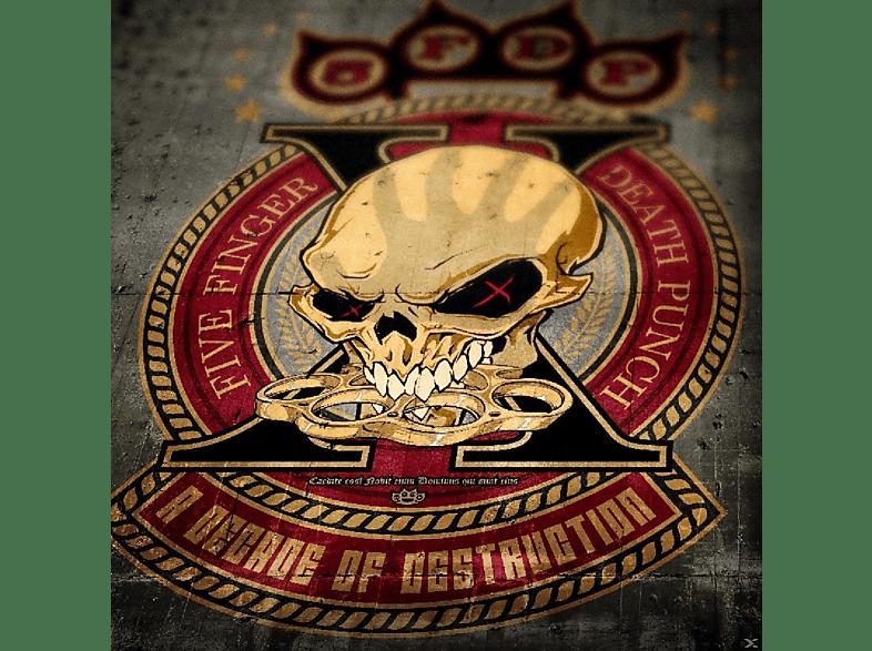 FIVE FINGER DEATH PUNCH - A DECADE OF DESTRUCTION [Vinyl]