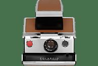 POLAROID ORIGINALS SX-70 Sofortbildkamera, Schwarz/Silber