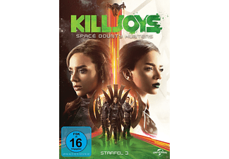 Killjoys - Space Bounty Hunters - Staffel 3 DVD