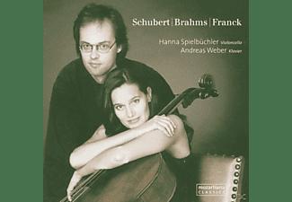 H.Spielbüchler, A.Weber - Schubert/Brahms/Franck  - (CD)