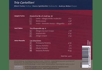 Trio Cartellieri - Turina/Takacs/Piazzolla  - (CD)