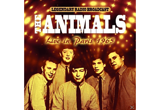 The Animals - LIVE IN PARIS 1965  - (CD)