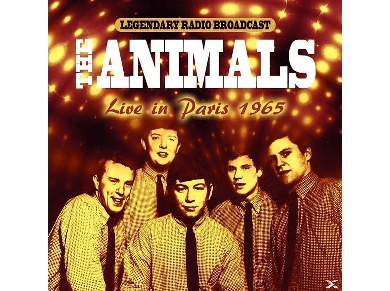 The Animals - LIVE IN PARIS 1965 [CD]