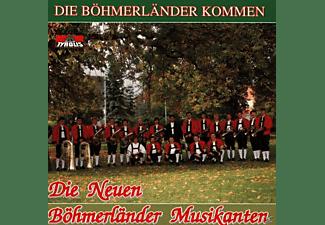 D.neue Böhmerländer Musikanten, Die Neuen Böhmerländer Musikanten - Die Böhmerländer Kommen  - (CD)