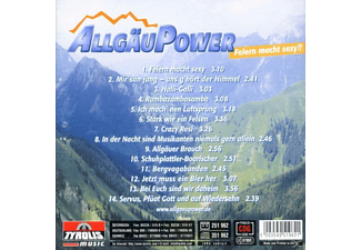 Allgäupower, Allgäu Power - Feiern Macht Sexy!!  - (CD)