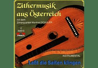 Manfred Zitherquartett Schuler - Zithermusik Aus Österreich  - (CD)