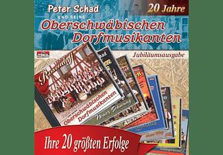 Peter Und Seine Oberschwäbischen Dorfmusikan Schad - Ihre 20 Größten Erfolge  - (CD)
