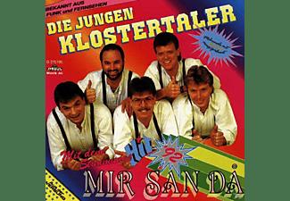 Die Jungen Klostertaler - Mir San Da  - (CD)