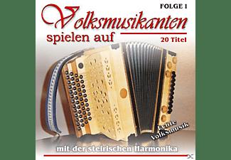 VARIOUS - Volksm.M.D.Steir.Harmonika 1  - (CD)