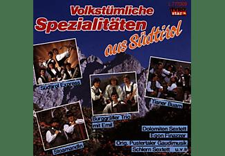 VARIOUS - Volkstümliche Spezialitäten aus Südtirol  - (CD)