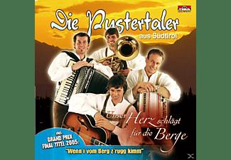 Die Pustertaler - Unser Herz Schlägt Für Die Berge  - (CD)