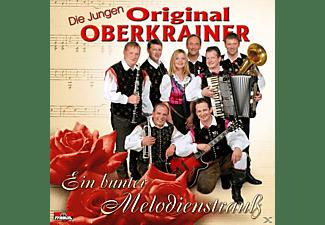 Die Original Jungen Oberkrainer - Ein Bunter Melodienstrauss  - (CD)