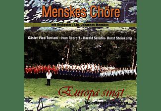 Menskes Chöre - Europa Singt  - (CD)