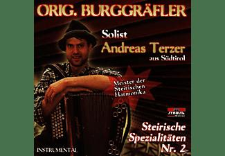 Andreas Terzer - Steirische Spezialitäten Nr.2 (Steirische Harmonika - Instru  - (CD)