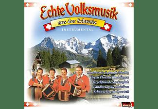 VARIOUS - Echte Volksmusik aus der Schweiz  - (CD)