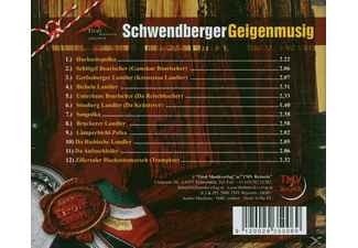 Schwendberger Geigenmusig - Zillertaler Hochzeitsmarsch u.v.m.Echtes Tiroler Kulturgut  - (CD)