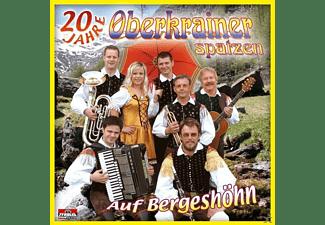 Oberkrainer Spatzen - Auf Bergeshöhn  - (CD)