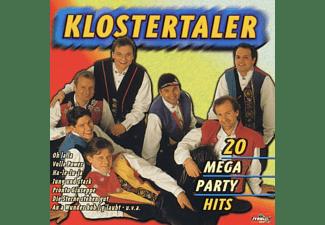 Klostertaler - 20 Mega Party Hits  - (CD)
