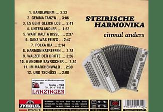 Heinold Gasser Und Seine Freun - steirische Harmonika einmal an  - (CD)