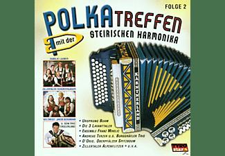 VARIOUS - Polkatreffen Mit Der Steirischen Harmonika 2  - (CD)