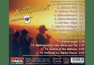 Auner Alpenspektakel Aus Tirol - Alphornklänge  - (CD)