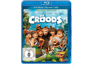 Die Croods 3D Blu-ray + Blu-ray + DVD