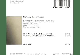 Tilo Wiedenmeyer, Münchner Klaviertrio - The Young Richard Strauss  - (CD)