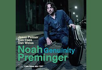 Noah Preminger, Jason Palmer, Kim Cass, Dan Weiss - Genuinity  - (CD)