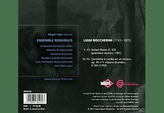 Magali Léger, Ensemble RosaSolis - Stabat Mater/Streichquintett op.45 1  - (CD)