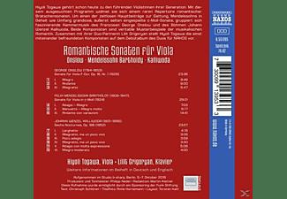Hiyoli Togawa, Lilit Grigoryan - Romantische Sonaten für Viola  - (CD)