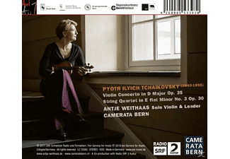 Antje Weithaas, Camerata Bern - Violinkonzert / Streichquartett  - (CD)